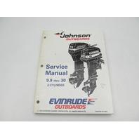 "503146 Evinrude Johnson Outboard Service Manual ""EO"" 9.9-30 HP 1995"