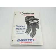 "503148 Evinrude Johnson Outboard Service Manual ""EO"" 40-55 HP 1995"