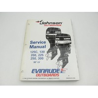 "503152 Evinrude Johnson Outboard Service Manual ""EO"" 125-30 HP 90 Deg LV 1995"