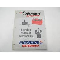 507270 1997 OMC Johnson Evinrude EU Outboard Service Repair Manual for Accessories