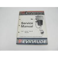 "507614 1987 Evinrude Johnson Outboard Service Manual Colt/Junior-8 HP ""CU"""