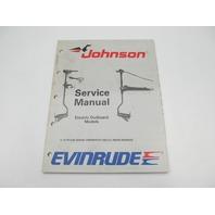 1989 Evinrude Johnson Electric Troller Outboard Service Manual CE