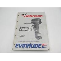 507754 1989 Evinrude Johnson Outboard Service Manual 9.9-30 HP CE