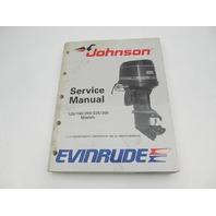 507758 1989 Evinrude Johnson Outboard Service Manual 120-300 CE Loop V