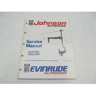 "1991 Johnson Evinrude Electric Troller Outboard Service Manual ""EI"""