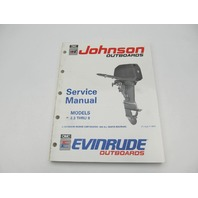 "507945 1991 Johnson Evinrude 2.3-8 HP Outboard Service Manual ""EI"""