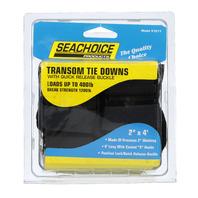"Seachoice Premium Transom Tie Down Straps Quick Release, 2"" x 48"", 2-Pack"