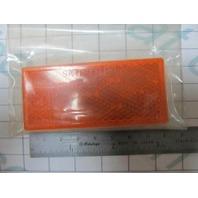 3357 003357 Wesbar Multi-Use Reflex Reflector Lens, Amber