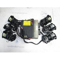 586724 5004501 5004502 EMM ECM & Fuel Injectors Evinrude 225 Hp Outboard 2001