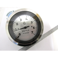 "63473P STERLING SERIES GAUGE 3"" Tachometer 0-7000 RPM for O/B & 4-Stroke Gas Engines"