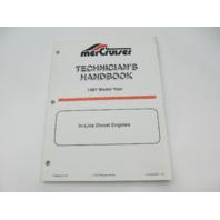 806536970 1997 Mercruiser In-Line Diesel Engines Technicians Handbook Manual