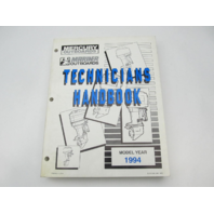 816981940 1994 Mercury Mariner Outboard Technicians Handbook Manual