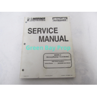 90-856159 Mercury Mariner Outboard Service Manual 15 HP 4-Stroke