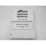 90-860074 597 MerCruiser Marine Engines Service Repair Manual #22 EDI D-Tronic