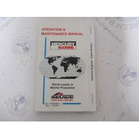 Owner Operation & Maintenance Manual For Mercruiser Gasoline Engine Alpha Models