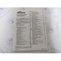 Owner's Installation Manual For Mercruiser Gasoline Engine Alpha Models