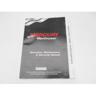 860171023 902 Mercruiser Operation & Maintenance Manual Alpha/Bravo Carbureted