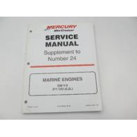 90-861327000 700 Mercruiser Service Manual #24 Supplement for GM V8 Marine Engines