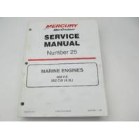 861328-1 1199 Mercruiser #25 Service Manual Marine Engines GM V-6 262 CID 4.3L