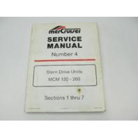 90-86137 286 MerCruiser I-Drive Stern Drive Service Repair Manual #4 MCM 120-260