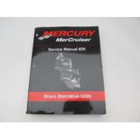 90-863160-1 2003 Mercury Mercruiser #28 Service Manual for Bravo Sterndrive Units