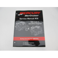 Mercury Mercruiser #30 Service Repair Manual 496cid/8.1L Gasoline Sections 4-5