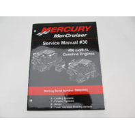 Mercury Mercruiser #30 Service Repair Manual 496cid/8.1L Gasoline Sections 6-9