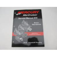 865612020 2006 Mercruiser #39 Bravo Service Manual Section 3A-B Driveshaft Housing