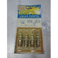 876047-2 Volvo Penta Engine Spark Plug Kit 4PC