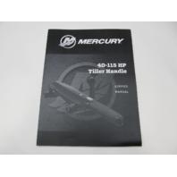 8M0159442 2020 Mercury 40-115 HP Outboard Tiller Handle Service Repair Manual