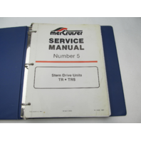 90-12935 1085 Mercruiser #5 TR TRS Stern Drive Service Repair Manual