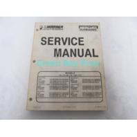 90-13645-2 695 Mercury Mariner Outboard Service Manual 70-115 HP 1987-1993