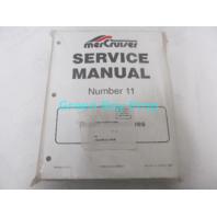 90-17431-4 Mercury Mercruiser #11 Bravo Stern Drive Service Manual 1998