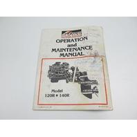 90-42227 1083  Mercruiser 120R & 140R Operation & Maintenance Manual