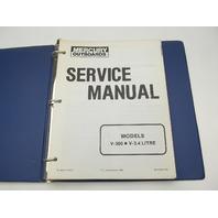 90-43508 1184 Mercury Outboard Service Repair Manual V-300, V-3.4L