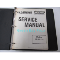 90-44477-1 690 Mercury Mariner Outboard Service Manual 2.2-3.0 HP