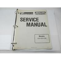 90-44477-1 690 Mercury Mariner Outboard Service Repair Manual 2.2-3.0 HP