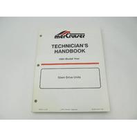 806534940 Mercury Mercruiser Stern Drive Units Technicians Handbook Manual Year 1994