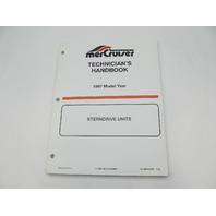 806534970 1997 Mercury Mercruiser Stern Drive Units Technicians Handbook Manual