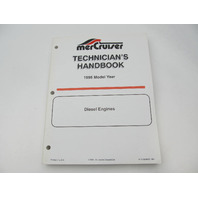 806536950 1995 Mercury Mercruiser Diesel Engine Technicians Handbook Manual