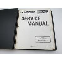 90-814098 189 Mercury Mariner Outboard Service Repair Manual V-135 thru V-200