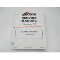 90-814099-2 196 MerCruiser Service Repair Manual Number 12 In-Line Diesel