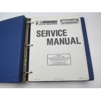 90-816249-1 491 Mercury Mariner Outboard Service Repair Manual V135-V200 1990-91