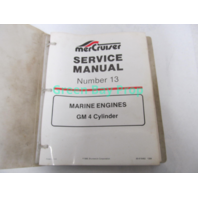 90-816462 MerCruiser Service Manual No 13 GM 4 CYL 3.0L Marine Engines