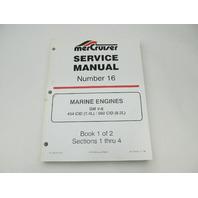 823224-2 796 MerCruiser Service Repair Manual 16 GM V-8 Marine Engines Book 1