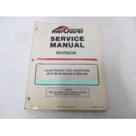 90-823224940 MerCruiser Service Manual Revision to #16 EFI MCM MIE 454