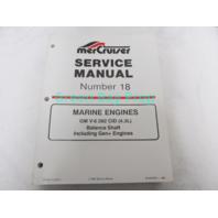 90-823226-1 MerCruiser Service Manual No 18 GM V-6 4.3L Marine Engines