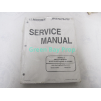 90-828631R3 1999 Mercury Mariner Outboard Service Manual 40-50 4-Stroke Bigfoot