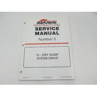 90-840250 1998 MerCruiser Service Repair Manual No 5 VI-Dry Sump Sterndrive