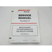 90-840283 MerCruiser Service Repair Manual 6 GM 500 Hi-Performance EFI w/Supplement